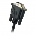 VGA Male to HDMI Female + USB Audio Video Converter Adapter Cable - Black