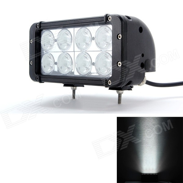 MZ 8 80W 6000lm 8-LED Worklight Bar 2-Row Spot SUV / Off-road Driving Lamp (10~30V)