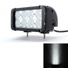 "MZ 8"" 80W 6000lm 8-LED Worklight Bar 2-Row Spot SUV / Off-road Driving Lamp (10~30V)"