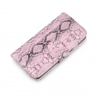 "Angibabe Snake Skin Pattern Flip-open PU Leather Case with Card Slots for IPHONE 6 4.7"" - Pink"