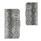 "Angibabe Snake Skin Pattern Flip-open PU Leather Case with Card Slots for IPHONE 6 4.7"" - Gray"