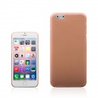 "A854 0.3mm Ultra-thin Protective PP Back Case for IPHONE 6 PLUS 5.5"" - Isabelline"