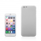 "A854 0.3mm Ultra-thin Protective PP Back Case for IPHONE 6 PLUS 5.5"" - White"