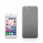"A854 0.3mm Ultra-thin Protective PP Back Case for IPHONE 6 PLUS 5.5"" - Grey"