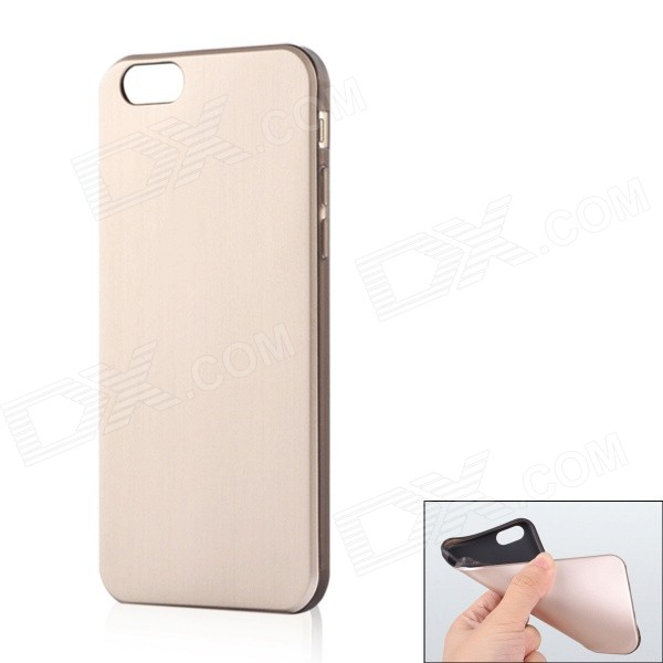 "Ultra-Slim Protective TPU Back Case for IPHONE 6 4.7"" - Golden"