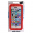 "Protective Waterproof Plastic Case w/ Touch Control for IPHONE 6 4.7"" - Red"