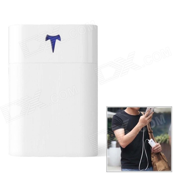 Yoobao T1 10200mAh Dual USB Power Bank w/ 3-LED Indicators - White