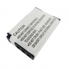 FNP-48 3.7V 850mAh Li-ion Battery for FUJIFILM XQ1 - White + Black