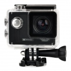 "Mini Waterproof 1.5"" TFT Screen 1080P HD CMOS 12.0MP Sports Camcorder - Black"