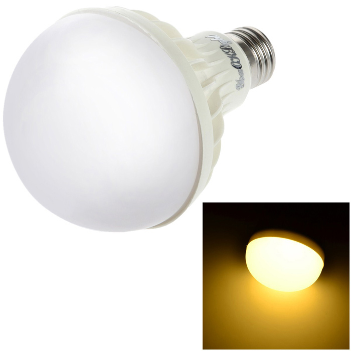 YouOKLight E27 12W 750lm 3000K 18-SMD 5630 LED Warm White Light Bulb (AC 220V)