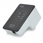 Dual-band 2.4 / 5GHz 300Mbps IEEE 802.3u/a/n/b/g Wireless AP Wi-Fi Repeater - Black +White (US Plug)