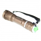 UltraFire XL-AD1 LED 800lm 5-Mode White Zooming Flashlight w/ Strap - Brown (1 x 18650)