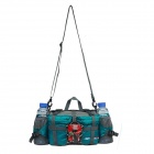 F863 Multi-functional Water-resistant Single Shoulder Dacron Leisure Bag - Blue