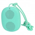 DOSS DS-1196 Portable Mini Wearable Wireless Bluetooth Speaker w/ TF Slot / Hands-free Call - Green