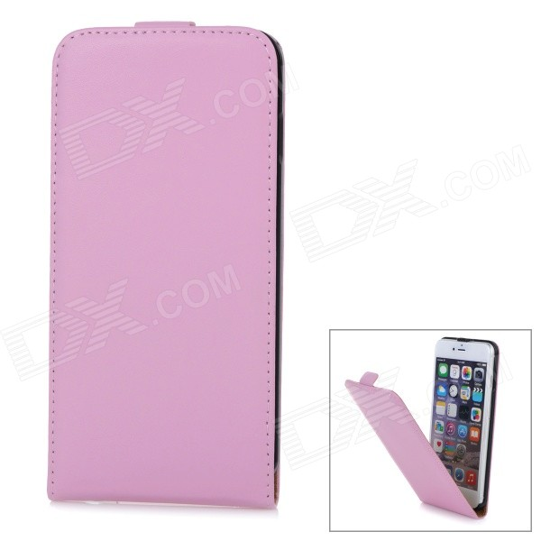 WB-55PL Protective Sheep Skin Top Flip-Open Case for IPHONE 6 PLUS 5.5 - Pink