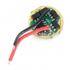 1.4A 3-Mode LED Driver Circuit Board for Flashlight - Green + Golden