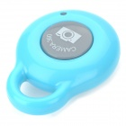 Bluetooth V3.0 Camera Remote Controller Selfie Shutter for iOS / Android Devices - Light Blue