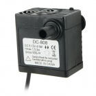 DC-808 4~5W Submersible Water Pump - Black