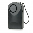 KK-109 Touch-Sensitive Anti-Theft Door Hanging Security Alarm w/ 120dB Siren - Black (1 x GF22)