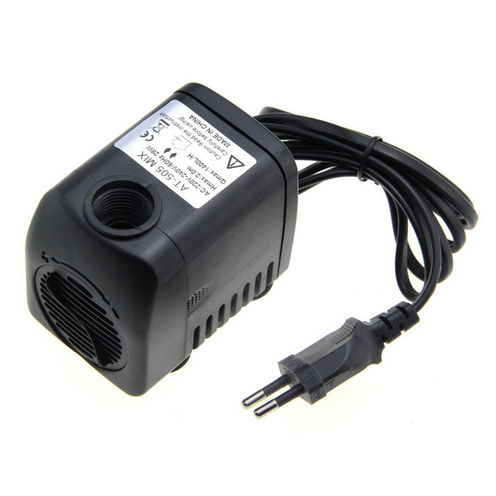 AT-505MIX 28W Submersible Water Pump - Black (EU Plug) at 707 7w pet fish tank submersible pump black eu plug 220 240v
