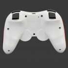 Dual-Shock Bluetooth V3.0 Controller Gamepad Joypad for PS3 / PS3 Slim - White + Red (2 PCS)
