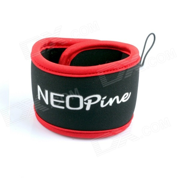 NEOPINE HS-2R Nylon Wrist Band Strap for Digital Cameras / GoPro Hero - Black + Red (27cm) john carucci gopro cameras for dummies