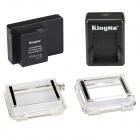 Kingma 3400mAh BacPac Battery w/ Dual Charger and Backdoors for GoPro Hero 3 and ABPAK-304
