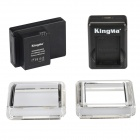 Kingma 3400mAh Li-po Battery BacPac w/ Dual Charger for GoPro Hero 3+, ABPAK-304 - Black