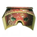 DIY Google Cardboard Virtual Reality 3D Glasses (Christmas Edition)