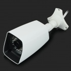 "MY102 Vanntett 1/4"" CMOS 1.0MP P2P HD IP kamera med 35-IR-LED / IR-CUT - hvit (EU Plug)"