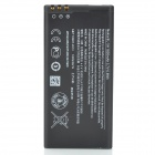 BL-5H Replacement 3.7V 1600mAh Li-ion Battery for Nokia Lumia 630 / 638 / 635 / 636 - Black
