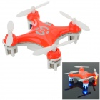 ChengXing Mini 2.4GHz 4-CH R/C Quadcopter w/ Lamp / Gyro - Orang + White (2 x AAA)
