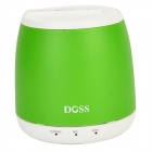 DOSS DS-1188S Gesture Sensor Control Wireless Bluetooth Speaker w/ TF Slot / Handsfree Call - Green