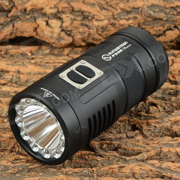 Sunwayman F30R 500lm 11-Mode Cool White LED Powerful Flashlight - Black (3 x 16340) от DX.com INT
