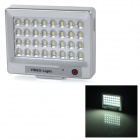 S60 Universal 1.2W 6000K LED Video Fill Light / Supplement Lamp for Cameras / Mobile Phones - Silver