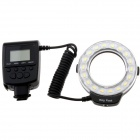 Travor 5500K 18-LED Micro Ring Flash Light for Nikon Canon Panasonic Olympus DSLR Camera
