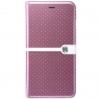 "NILLKIIN Ice Series Protective PU Leather Case for IPHONE 6 Plus 5.5"" - Pink"