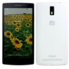 "Mijue M580 Android 4.4 Quad Core WCDMA Phone w/ 5.5"", 1GB RAM, 8GB ROM, GPS, WiFi, Bluetooth - White"
