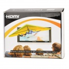 VGA HDMI HD 1080P Video Converter Box - musta