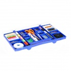 Multi-Funktions-portable Sewing Box - Blau
