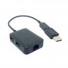 CY GT-142/U2-156-BK Micro USB OTG LAN USB HUB w/ USB Adapter for Galaxy Tablet Note