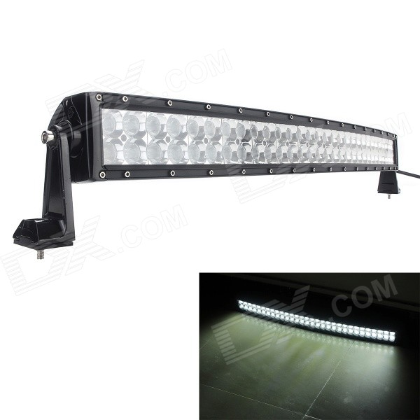 MZ 3D-Lens 32 180W 13500lm Curved LED Worklight Bar Spot + Flood Combo SUV Off-road Driving Lamp foxstar 36w led work light offroad 4x4 off road light bar for atv suv truck boat spot flood combo beam 2880lm universal
