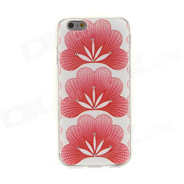 все цены на Kinston Cockscomb Diamond Paste Pattern TPU Soft Case for IPHONE 6 4.7