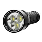 UltraFire WG-007 3-LED 2600lm Dimming Cool White Diving Flashlight - Black (2 x 26650 / 18650)