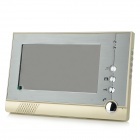 "V80-D 7"" TFT LCD Video Door Phone - Champagne (US Plug)"