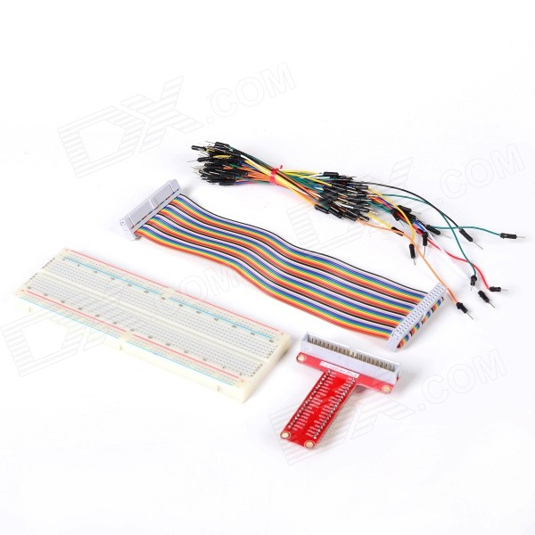 Expansion Board + Breadboard + Cable Set for Raspberry Pi B+ - Multicolored baby care grand voyager blue black