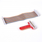 Expansion Board + Breadboard + Cable Set for Raspberry Pi B+ - Multicolored