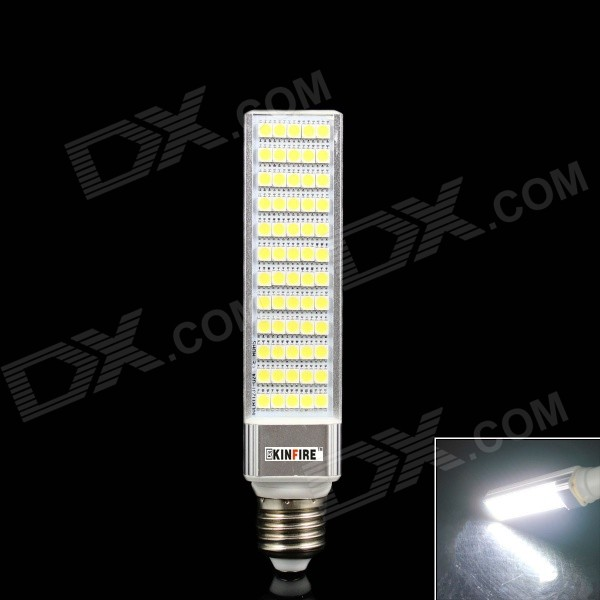 5558a418f Best price 9.23   KINFIRE E2715W 1200lm 60-SMD 5050 LED Cold White  Horizontal Plug Light DealExtreme
