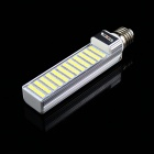 KINFIRE E2715W 1200lm 60-SMD 5050 LED Frio Branco Horizontal Plug Light