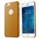 "Baseus EHAPIPH6-0Y Protective PU + PC Back Case for IPHONE 6 4.7"" - Yellow"